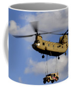 A U.s. Army Ch-47 Chinook Helicopter Coffee Mug