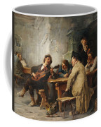 A Vagrant Ministrel In A Tavern Coffee Mug