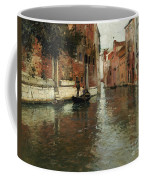 A Venetian Backwater  Coffee Mug by Fritz Thaulow