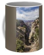 A Vertical View - Grand Canyon Coffee Mug