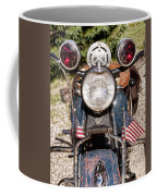 A Very Old Indian Harley-davidson Coffee Mug by James BO  Insogna