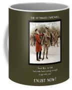 A Veteran's Farewell - Ww1 Coffee Mug
