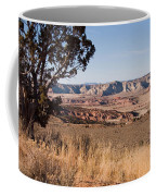 A View Down Into The Canyon That Forms Coffee Mug