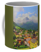 A View Of Engelberg Switzerland Coffee Mug