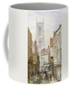 A View Of Irongate Coffee Mug by Louise J Rayner