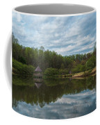A View Of Meadowlark Gardens Early On A Spring Morning Cm1 Coffee Mug