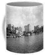 A View Of Miami Coffee Mug