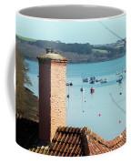 A View Of Mylor Harbour Coffee Mug
