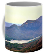 A View Of Table Rock South Carolina Coffee Mug