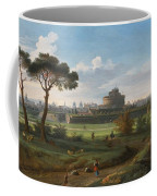 A View Of The Castel Sant'angelo Coffee Mug