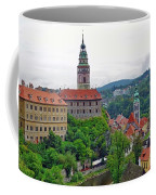 A View Of The Cesky Kromluv Castle Complex In The Czech Republic Coffee Mug
