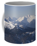 A View Of The Mountains Coffee Mug by Taylor S. Kennedy