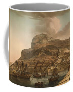 A View Of The Rock Of Gibraltar From The Spanish Lines 1782 Coffee Mug
