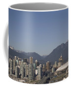 A View Of The Skyline Of Vancouver, Bc Coffee Mug by Taylor S. Kennedy