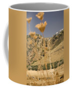 A View Of The Tajo De Ronda And Puente Nuevo Bridge Serrania De Ronda Andalucia Spain Coffee Mug