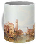 A View Of Verona Coffee Mug by George Clarkson Stanfield