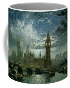 A View Of Westminster Abbey And The Houses Of Parliament Coffee Mug