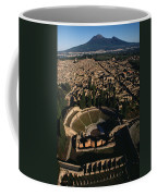 A View Over Pompeii Toward Mount Coffee Mug