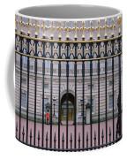 A View Through The Gates At Buckingham Coffee Mug