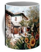 A Village In Summer Coffee Mug