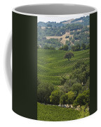 A Vineyard In The Anderson Valley Coffee Mug by Richard Nowitz