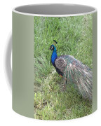 a Visit by Blue Coffee Mug