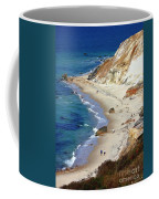 A Walk Along Aquinnah Beach Coffee Mug