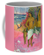 A Walk By The Sea Coffee Mug