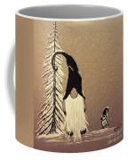 A Walk In The Snow Coffee Mug by Ginny Youngblood