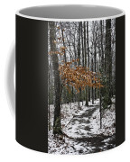 A Walk In The Snow Quantico National Cemetery Coffee Mug
