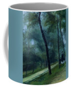 A Walk In The Woods Madame Lecoeur And Her Children 1870 Coffee Mug