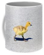 A Walk On Asphalt  Coffee Mug