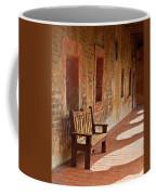 A Warm Welcome, Mission San Juan Capistrano, California Coffee Mug