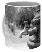 A Water Tap In The Park Coffee Mug