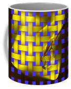 A Waterdrop In Weave  Coffee Mug