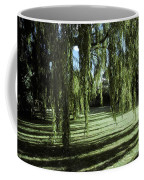 A Weeping Willow Casts Long, Cool Coffee Mug