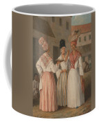 A West Indian Flower Girl And Two Other Free Women Of Color Coffee Mug