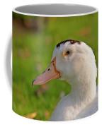 A White Duck, Side View Coffee Mug