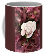 A White Rose Coffee Mug
