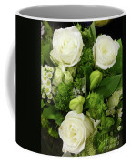 A White Roses Bouquet For You Coffee Mug