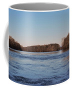 A Windswept River In March Coffee Mug