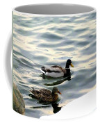 A Winter Swim Coffee Mug