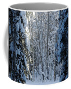 A Winter View  Coffee Mug