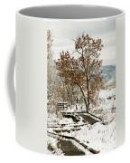 A Winter's Boardwalk Coffee Mug
