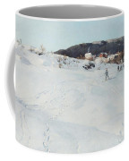 A Winter's Day In Norway Coffee Mug