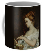 A Woman With Jewellery Coffee Mug