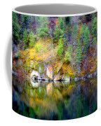 A Yellow Lake Calm Coffee Mug