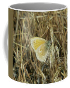 A Yellow Moth  Coffee Mug