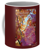 A Yoga Teacher Coffee Mug by Felipe Adan Lerma