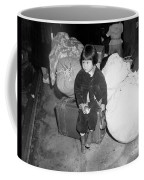 A Young Evacuee Of Japanese Ancestry Coffee Mug by Stocktrek Images